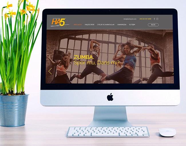 Ha5 spor cküp web sitesi argesoft tarafından yapılmıştırArgesoft